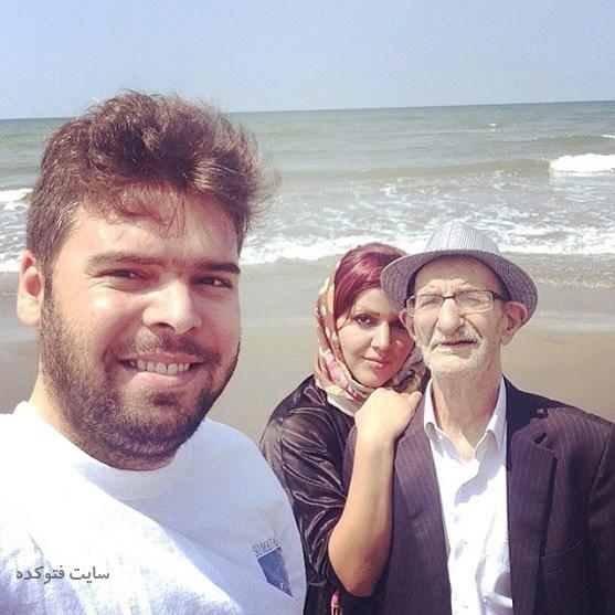 عکس خانوادگی احمد پورمخبر + بیوگرافی