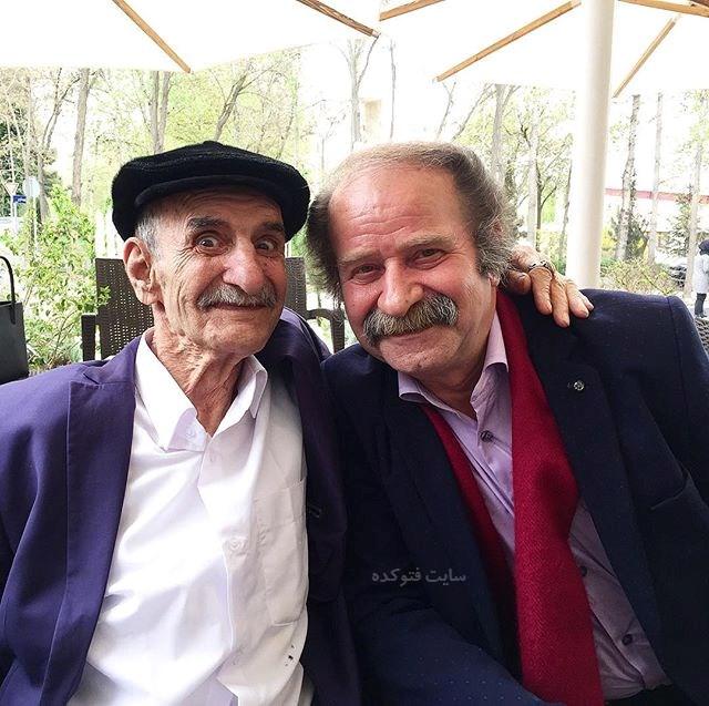 عکس احمد پورمخبر و فرج الله گل سفیدی + بیوگرافی