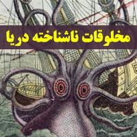 موجودات عجیب و غریب دریایی با عکس و داستان باورنکردی