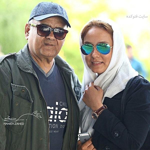 عکس های اکبر عبدی و دخترش المیرا عبدی