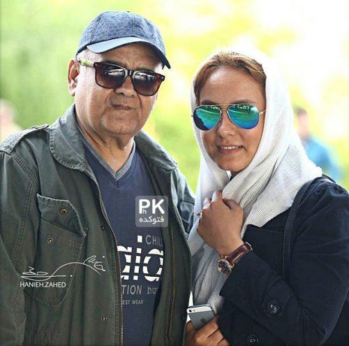 عکس اکبر عبدی و دخترش المیرا + بیوگرافی و جنجال ها