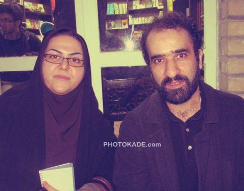 بیوگرافی رضا امیرخانی نویسنده و عکس همسرش