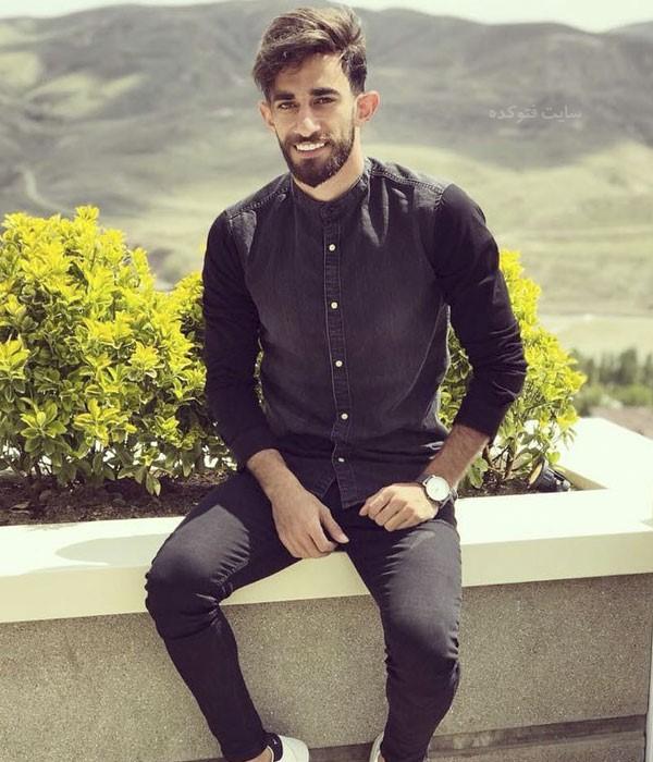 عکس های علی قلی زاده بازیکن فوتبال + زندگی شخصی
