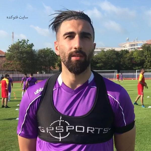 عکس بیوگرافی علی شجاعی فوتبالیست تیم پرسپولیس