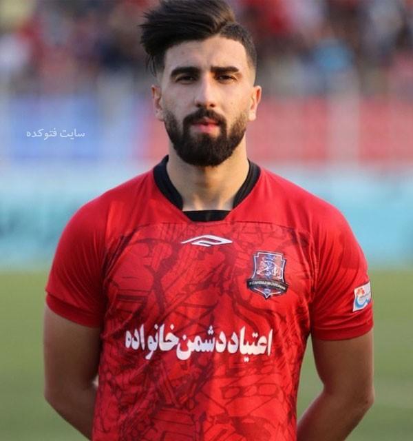 عکس و بیوگرافی علی شجاعی بازیکن فوتبال پرسپولیس تهران