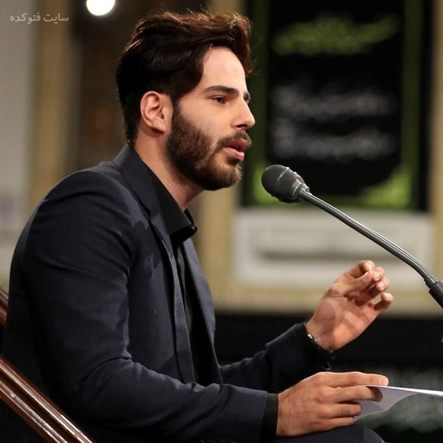 عکس علی اکبر قلیچ مداح بیت رهبری + زندگینامه
