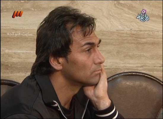 عکس علی اکبریان فوتبالیست در زندان