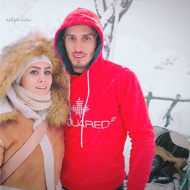 عکس علی علیپور و همسرش زهرا دژوان + بیوگرافی