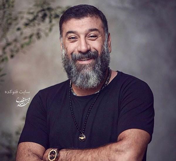 عکس و بیوگرافی علی انصاریان از فوتبال تا بازیگری