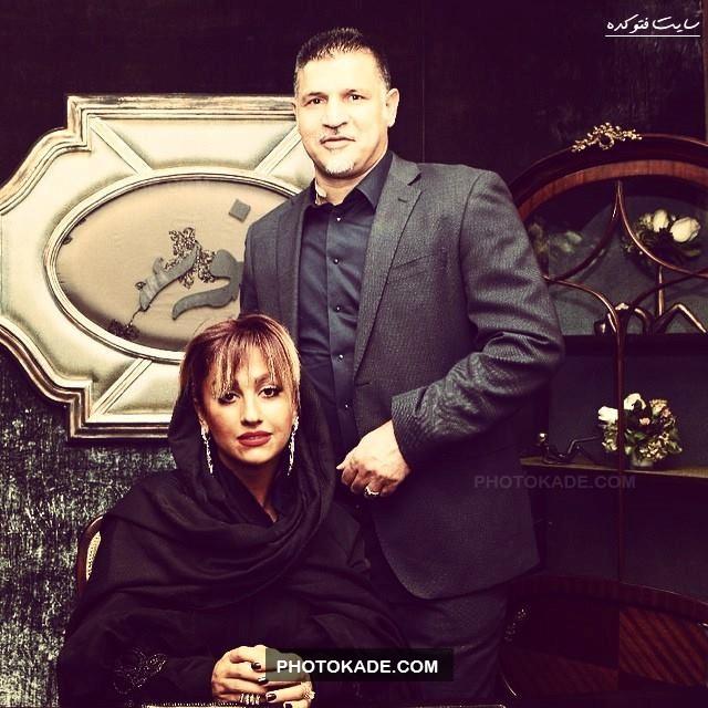 عکس جدید علی دایی و همسرش,عکس بی حجاب همسر علی دایی,عکس گالری جواهرات علی دایی,عکس های زن علی دایی,عکس های خفن علی دایی و همسرش