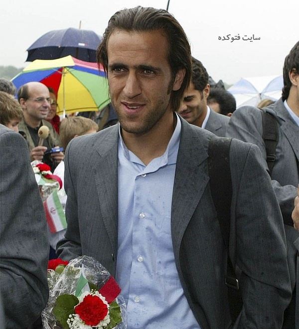 بیوگرافی علی کریمی Ali Karimi بازیکن فوتبال با عکس قدیمی