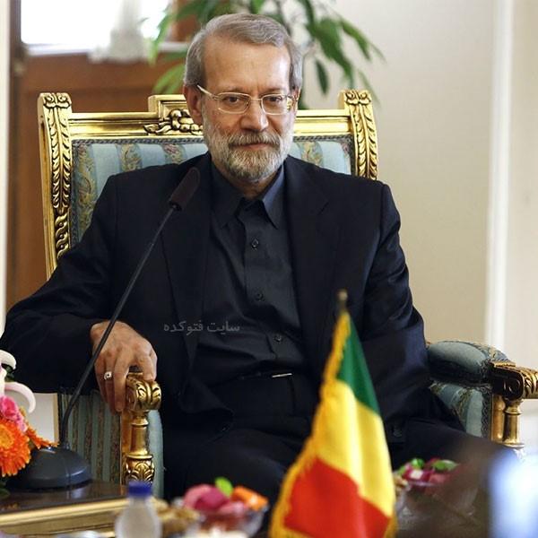 بیوگرافی علی لاریجانی رئیس مجلس + زندگی شخصی