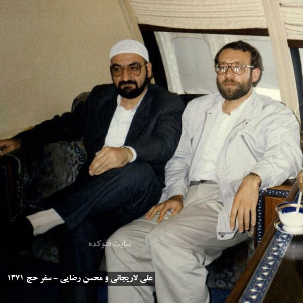 عکس های علی لاریجانی و محسن رضایی + بیوگرافی