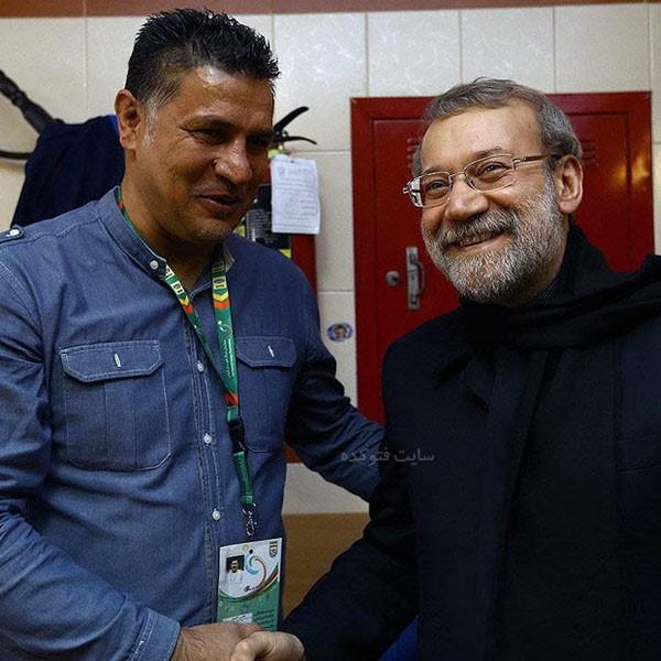 دکتر علی لاریجانی و علی دایی + بیوگرافی