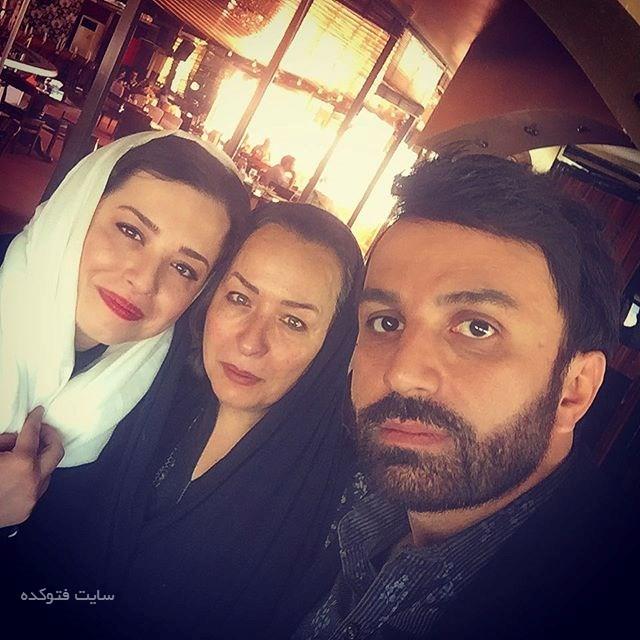 علی لهراسبی و آزیتا حاجیان و دخترش مهراوه شریفی نیا