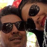 علی منصوری و همسرش + زندگی شخصی و سریال خط قرمز