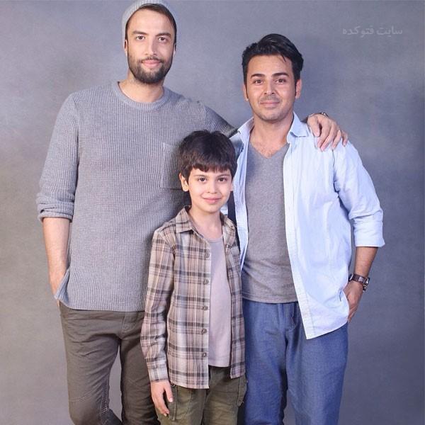 عکس های علی منصوری و پسرش در کنار بنامین بهادری