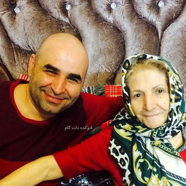 عکس علی مسعودی و مادرش + بیوگرافی کامل