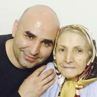 فوت مادر علی مسعودی خندوانه معروف به ننه با عکس ها