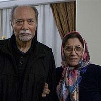 علی نصیریان و همسرش فاطمه بیات + زندگی شخصی