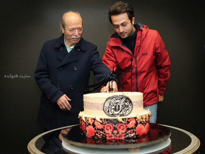 عکس تولد علی نصیریان