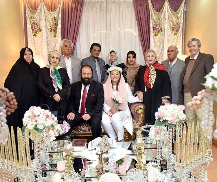 عکس لو رفته از عروسی نرگس محمدی و علی اوجی
