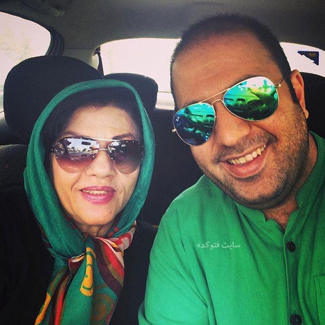 عکس علی اوجی و مادرش + بیوگرافی کامل