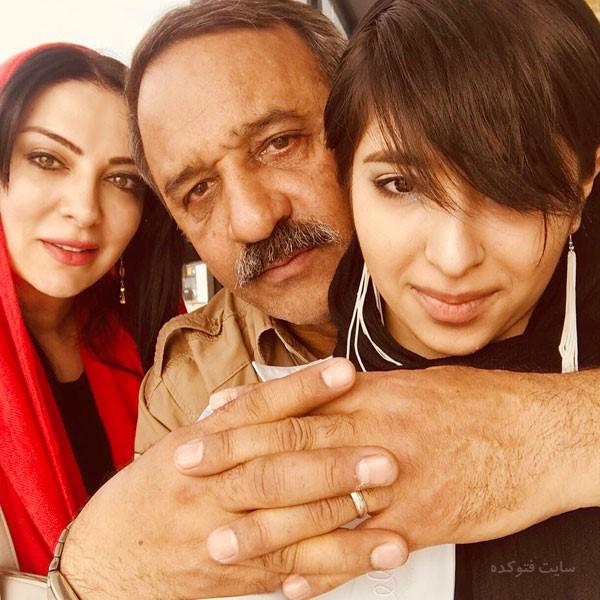 عکس های علی اوسیوند و همسرش و دخترش + بیواگرفی