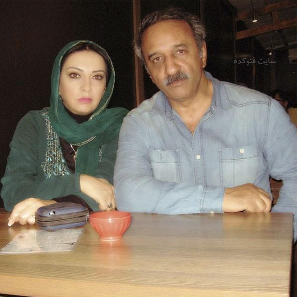همسر علی اوسیوند خانوم حمیرا ریاضی + بیوگرافی کامل