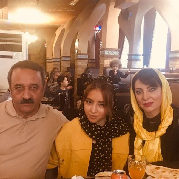 علی اوسیوند و دخترش یاسمین + بیوگرافی کامل