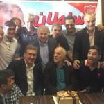 عکس های جشن تولد علی پروین و خوردبین