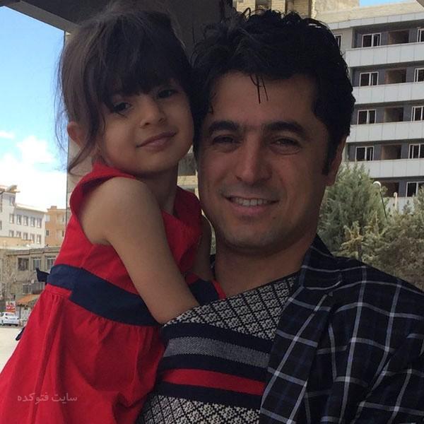 عکس علی پرمهر خواننده و دخترش آنالی + بیوگرافی کامل
