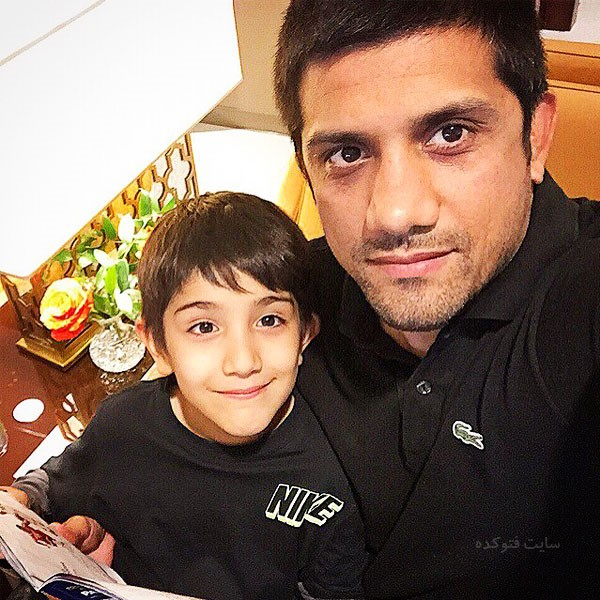 عکس های علیرضا دبیر و پسرش امیرحسین + بیوگرافی
