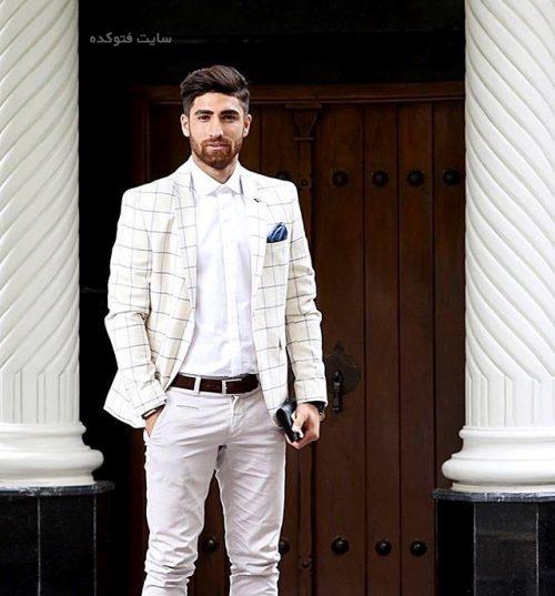 عکس های مدل شدن علیرضا جهانبخش مهاجم تیم ملی