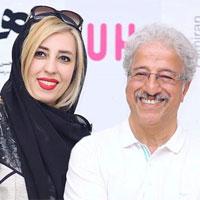 بیوگرافی علیرضا خمسه و همسرش مروارید پورشفیقی با عکس