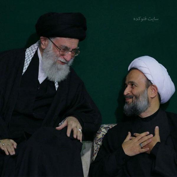 حجت الاسلام علیرضا پناهیان کنار رهبری + زندگی شخصی