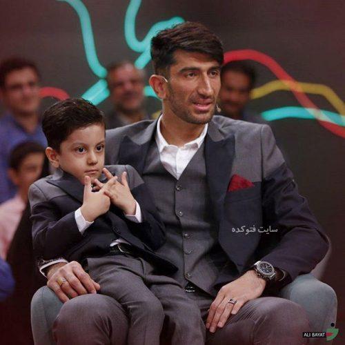 عکس علیرضا بیرانوند و پسرش در خندوانه + بیوگرافی