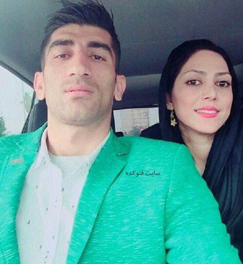 عکس علیرضا بیرانوند و همسرش + زندگینامه