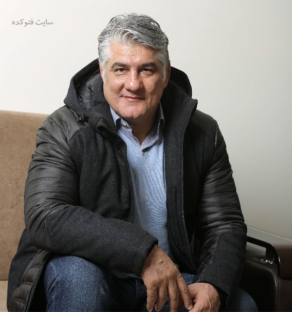 عکس کشتی گیر و معدن دار نمونه کشور علیرضا حیدری