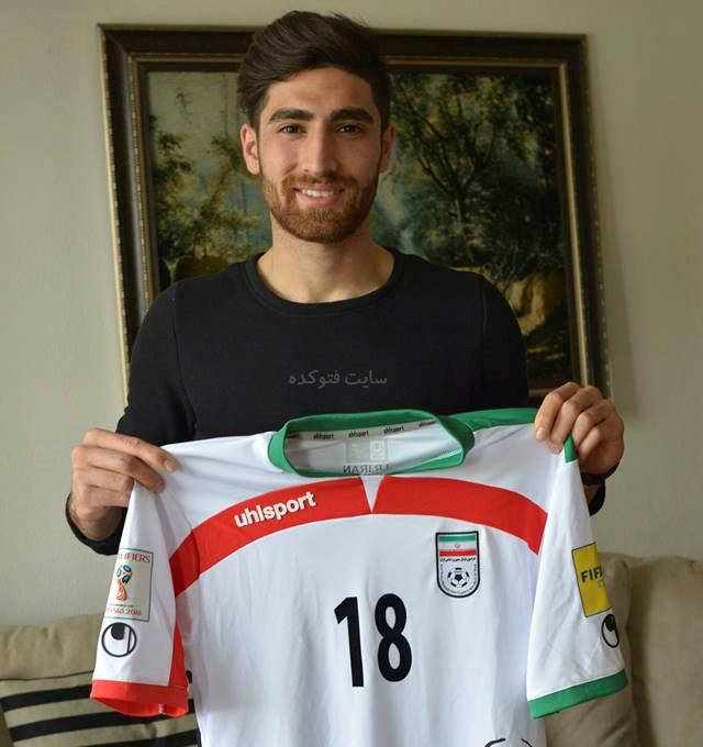 عکس علیرضا جهانبخش بازیکن فوتبال + زندگی شخصی
