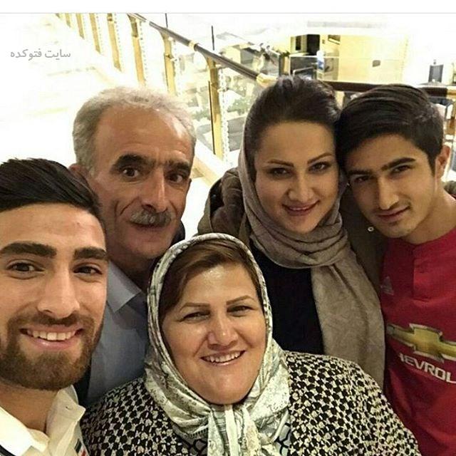 عکس خانوادگی علیرضا جهانبخش + زندگینامه