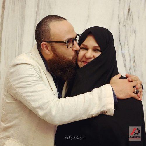 عکس علیرضا کمالی و مادرش + بیگرافی کامل