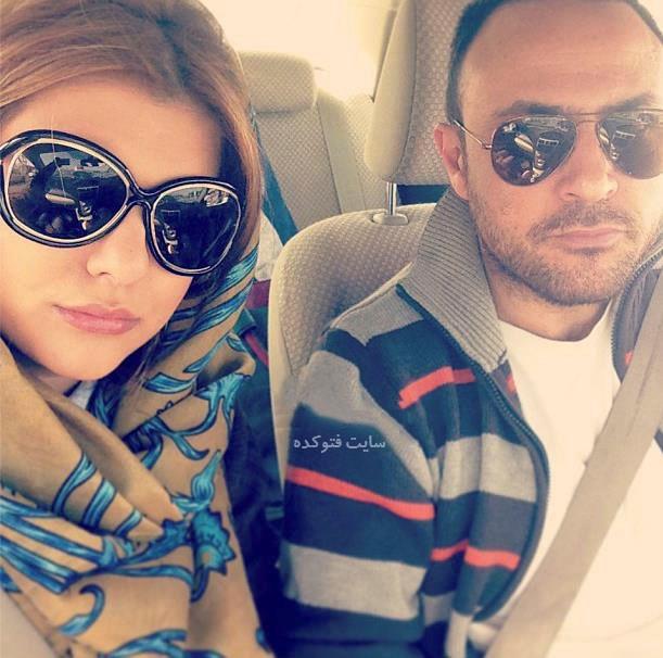 عکس دنیا مدنی و همسرش علیرضا کمالی