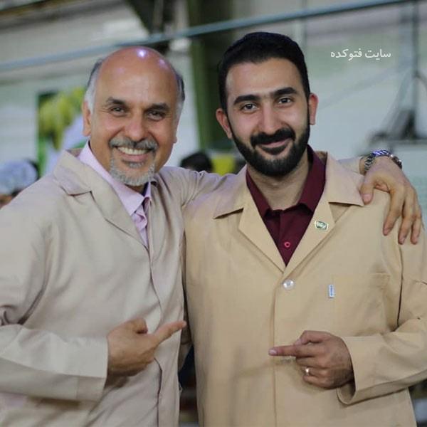 عکس علیرضا نبی و پسرش + زندگی شخصی