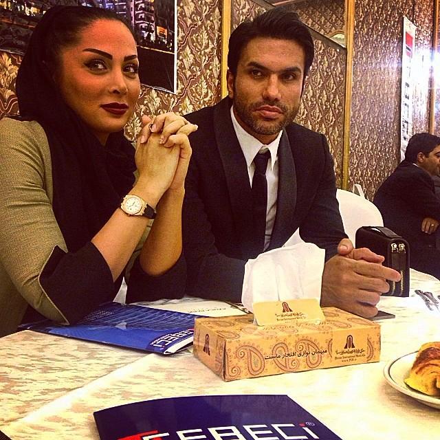 عکسنیکبخت واحدی و همسرش + ماجرای طلاق