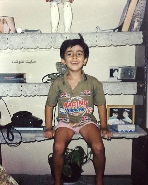عکس کودکی علیرضا طلیسچی خواننده + زندگینامه شخصی