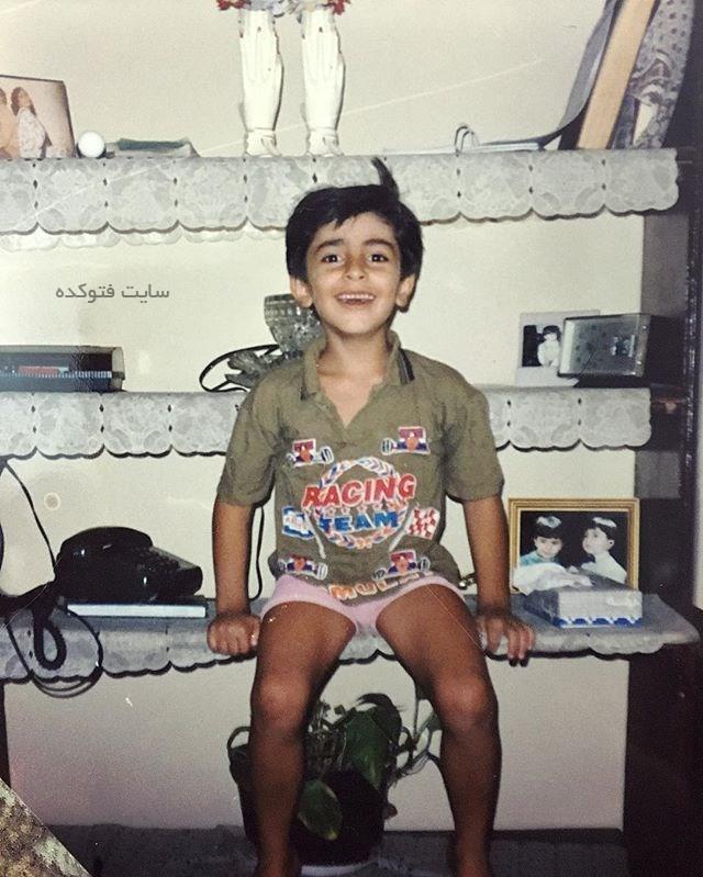 عکس کودکی عليرضا طليسچی خواننده + زندگینامه شخصی