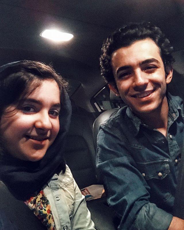 عکس و بیوگرافی علی شادمان و خواهرش