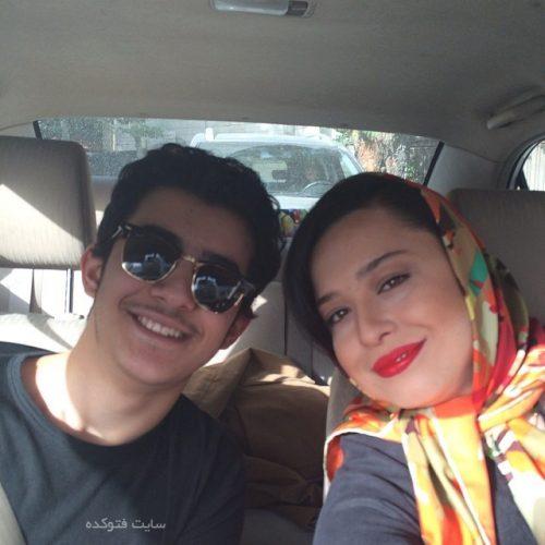علی شادمان و خواهرش مهراوه