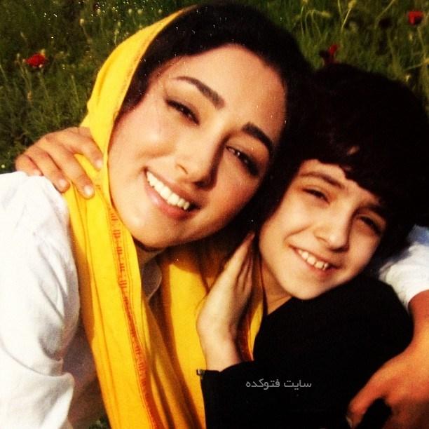 عکس علی شادمان و گلشیفته فراهانی در میم مثل مادر